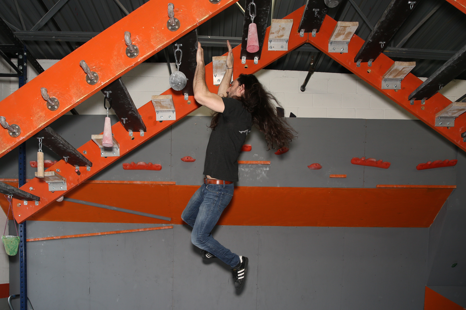 "Have you ever watched American Ninja Warrior and thought ""I could so do that!""? Well, there is a place in Sterling, Va. where you can test out your strength and see if you are cut tout for the show! NoVa Ninja (21531 Blackwood Court, Suite 110) is a 5,600-square-foot training facility where you can train on obstacles similar to or inspired by American Ninja Warrior. Adult Ninja Nights are every Thursday and Saturday and skill levels range from first timers to Ninja Warrior veterans. NoVa Ninja also hosts birthday parties, team parties, adult gatherings, corporate parties, and team building parties! (Image: Amanda Andrade-Rhoades/DC Refined)"