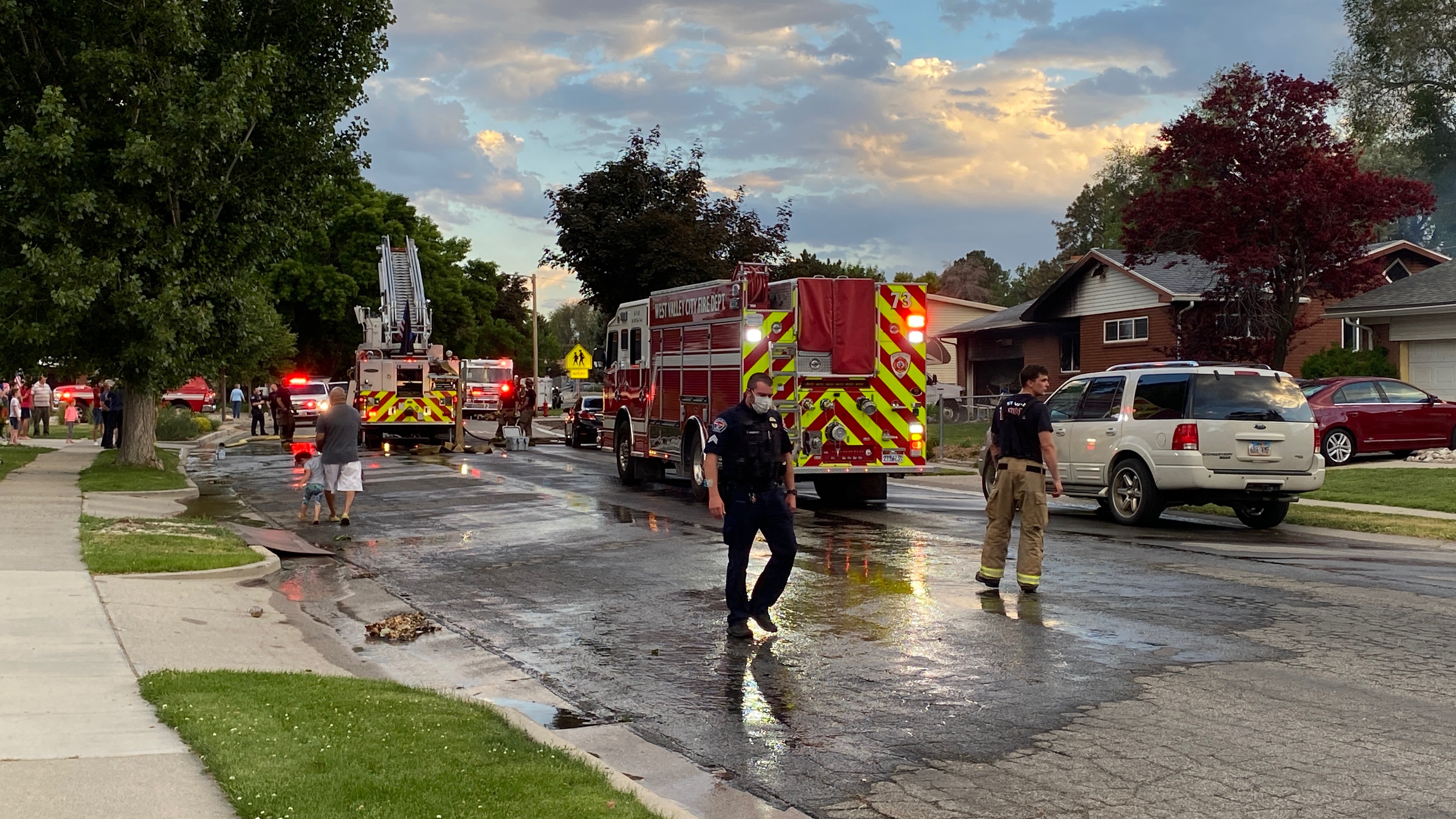 House fire in West Valley City causes $150,000 in damages (Photo: WVC Fire)