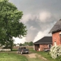 Tornado touches down south of Mount Pleasant, Iowa