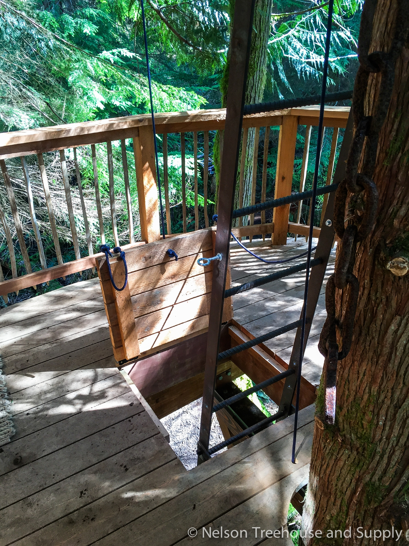 Many of us here in the PNW are familiar with 'Treehouse Masters', the Animal Planet show where Fall City's Pete Nelson and crew travel across the country to build incredible treehouses for a lucky few. With the show's next season right around the corner (Jan. 6), and the local connection - we thought we'd take a look at all the treehouses they built in 2016. We'll do one 'Treehouse of the Day' a day until we run out!   Take a look at this Adventure Headquarters the team built right here in Washington state (Season 6, Ep. 2). This treehouse sits in the backyard of a thrill-seeking couple looking for the treehouse of their adventurous dreams! It sit 15 feet high in three cedars, with a wraparound deck that provides 360 degree of stunning views. Full episodes at animalplanet.com. (Image: Animal Planet)