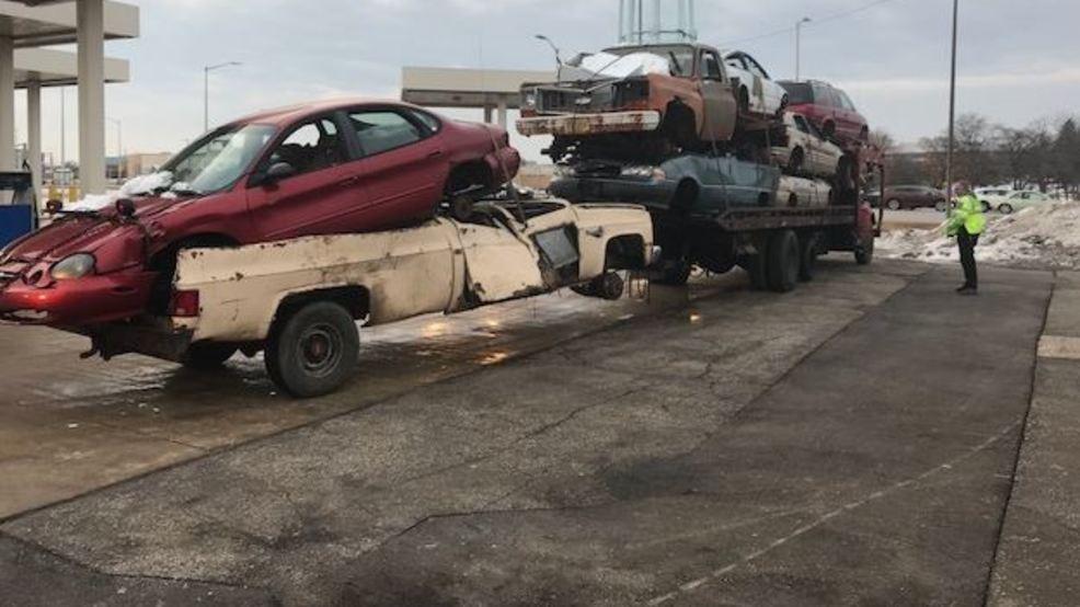 dangerous car hauler cited in milwaukee county wluk