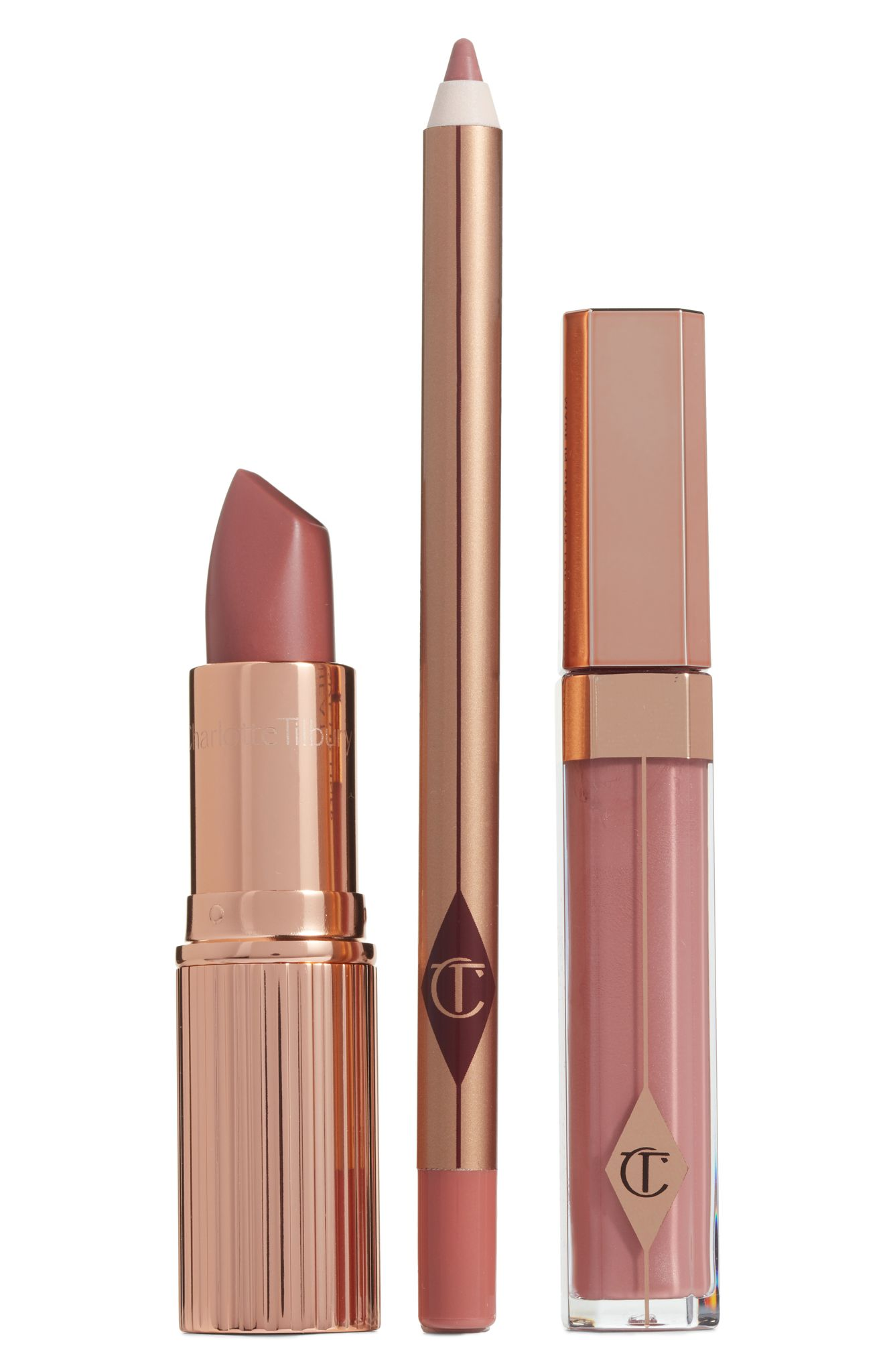 Charlotte Tilbury Pillow Talk Lip Set (normally $78): NOW $60 (Image: Nordstrom){ }