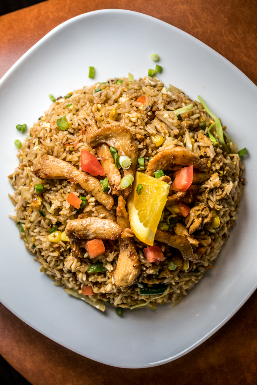 Chicken fried rice / Image: Catherine Viox // Published: 2.6.20