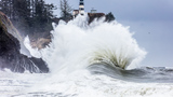 Photos: Thursday's storm makes spectacular scenes at Cape Disappointment