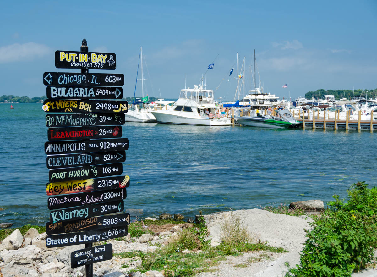 Put-in-Bay is located on South Bass Island in northern Ohio (Ottawa County), approximately 4.5 hours from Cincinnati. [Image: Sherry Lachelle Photography]
