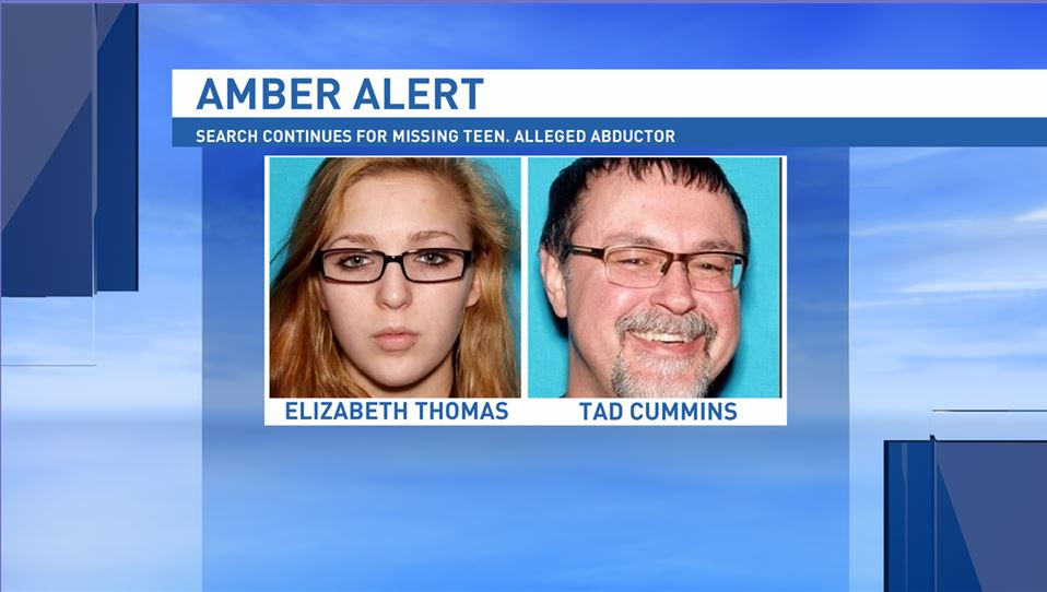 The search continues for a Tennessee teenager and the teacher who allegedly kidnapped her. (Photo credit: Tennessee Bureau of Investigation)