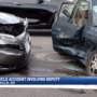 Two vehicle accident involving deputy