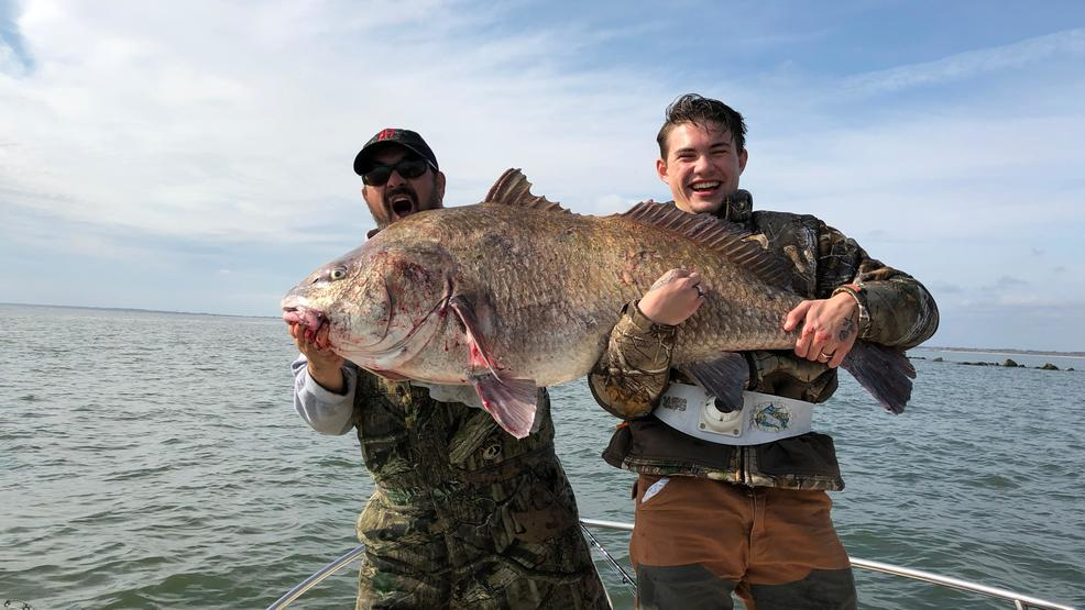 Potential world record fish caught in georgetown wpde for Fish table sweepstakes near me
