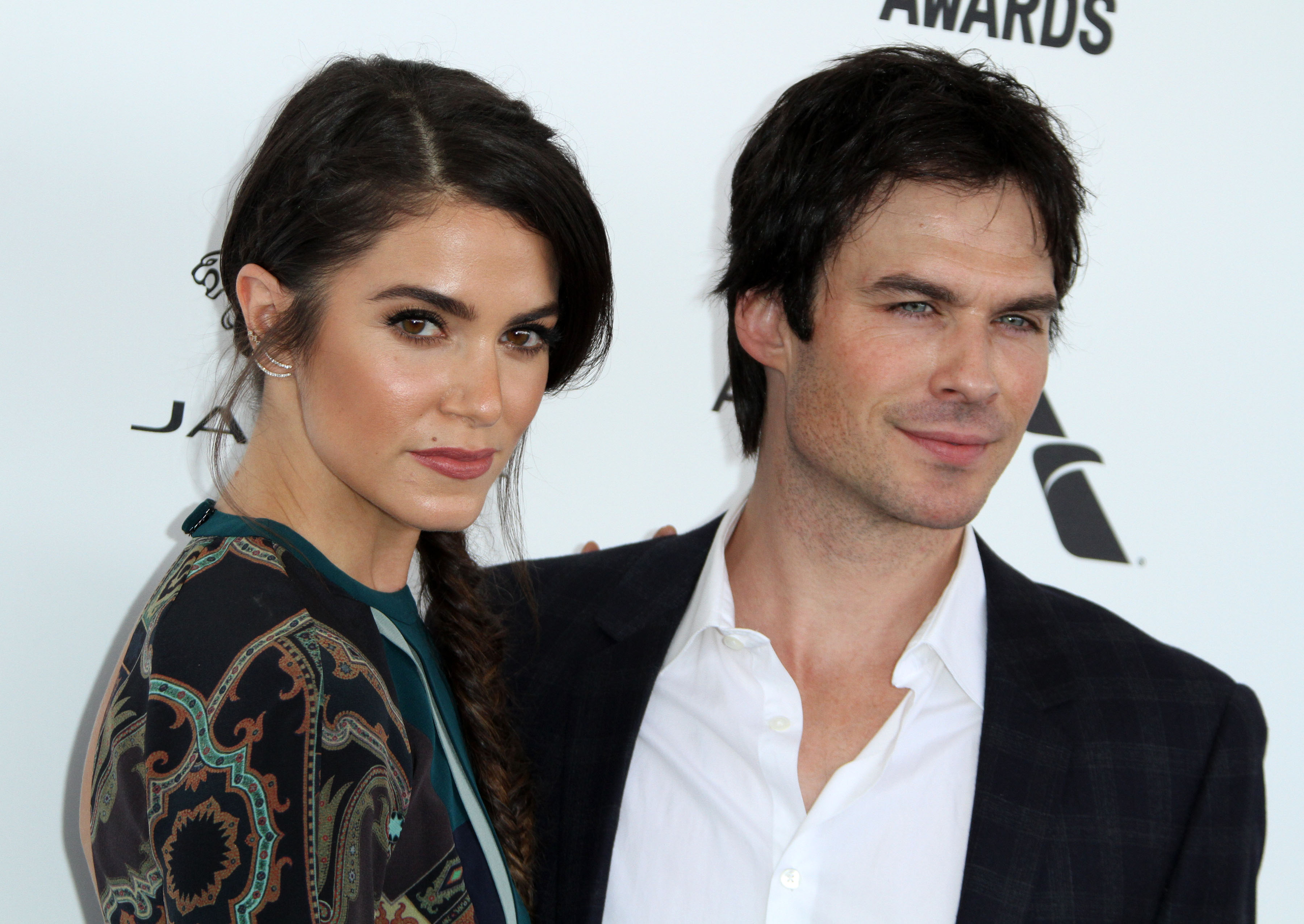 31st Independent Spirit Awards held at Santa Monica Beach  Featuring: Nikki Reed, husband Ian Somerhalder Where: Los Angeles, California, United States When: 27 Feb 2016 Credit: Adriana M. Barraza/WENN.com
