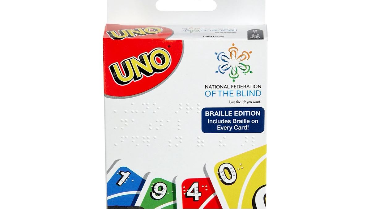 The creators of UNO have just released a braille version of the game. (CNN Newsource){&nbsp;}<p></p>