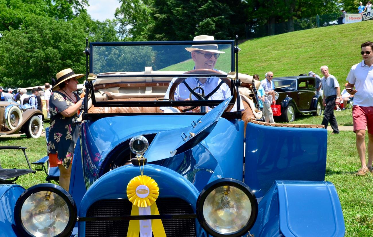 Concours d' Elegance, a nationally ranked car show, was held on Sunday, June 11 at Ault Park. The event's history dates all the way back to June 1978, when the inaugural Concours was held at the estate of William and Helen Williams. Since that time, it's been held at Peterloon Estate and Cincinnati Country Day School before moving to its current location of Ault Park in 1996. All proceeds from the event benefit the local Ohio chapter of the Arthritis Foundation. / Image: Leah Zipperstein, Cincinnati Refined // Published: 6.12.17