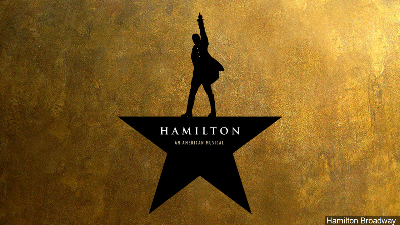 Poster for 'Hamilton' the musical. (MGN ONLINE)