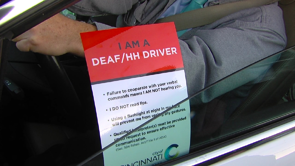 Helping Drivers With Special Needs Placards For Deaf And