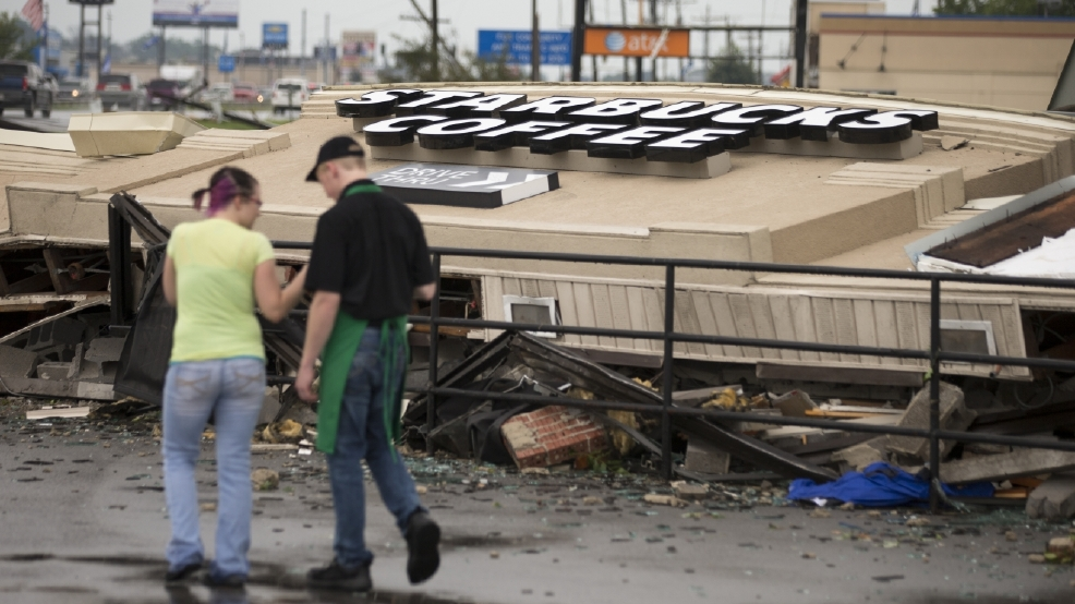 Watch: Tornado destroys Starbucks cafe in Kokomo, Indiana