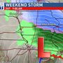 Storm to spread snow into eastern Iowa to start the weekend