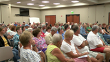 Residents speak out against proposed rezoning plan in Legends, Carolina Lakes areas