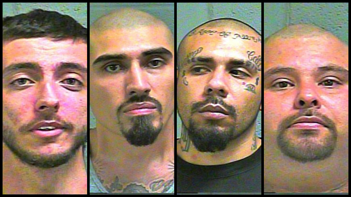 Four people were arrested following a lengthy investigation by the DEA in Oklahoma City. (Oklahoma County Jail)