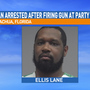 Man arrested in Alachua after firing gunshots at a party