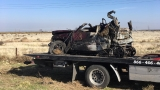 Fiery crash claims lives of father and toddler, other passengers hospitalized