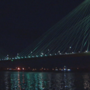 Teal the Bridge lights up to raise ovarian cancer awareness