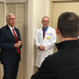Rep. Scalise reportedly undergoing third surgery; VP Pence pays visit to hospital