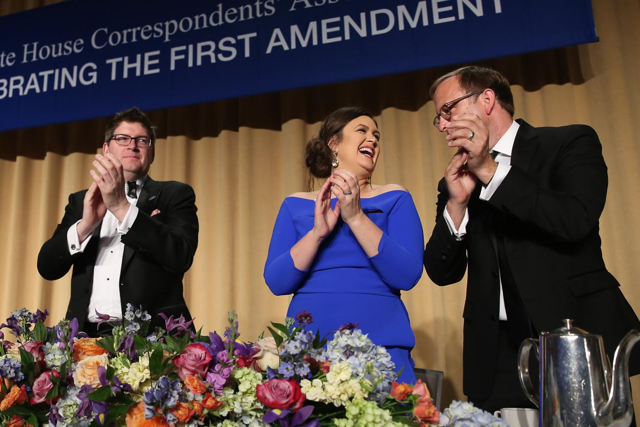 The Washington Hilton was packed for the 2018 White House Correspondents' Dinner on April 28. Hundreds of media luminaries, activists and politicians gathered to honor the work of journalists and the remember the importance of the First Amendment. Here's what it was like inside. (Amanda Andrade-Rhoades/DC Refined)