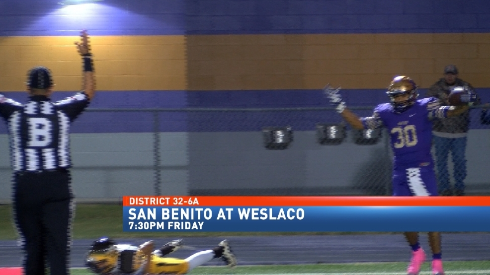Weslaco Looking Forward to Challenge Of Unbeaten San Benito