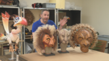Meet the Lion King puppet master