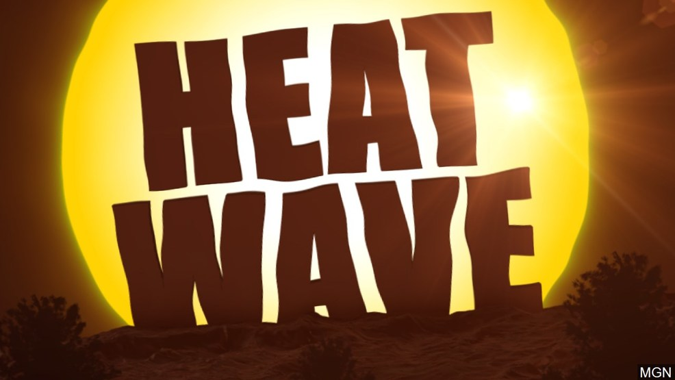 residents keep their cool during dangerous heat advisory wear