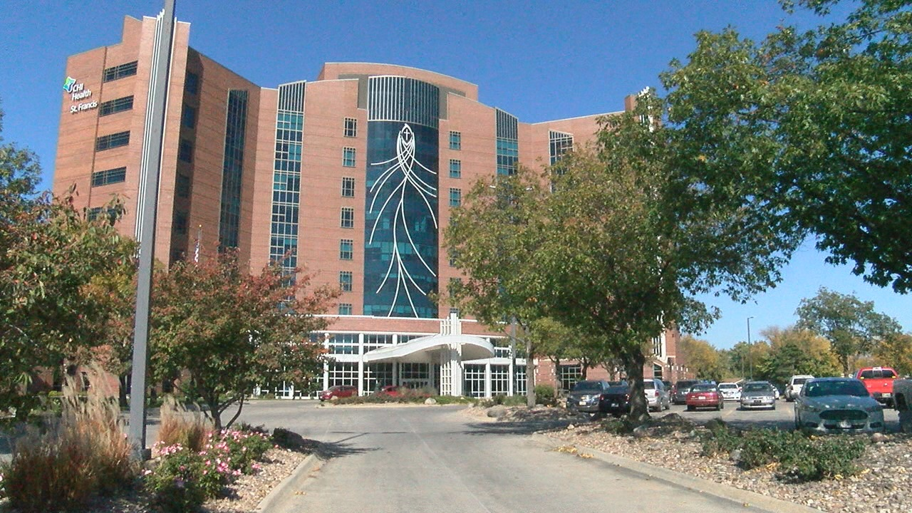 The patient tower at CHI St Francis in Grand Island (NTV News)