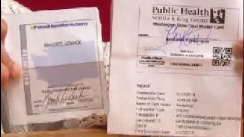 Washington Food Handlers Card Pierce County