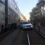 Amtrak train hits vehicle in Virginia, officials say