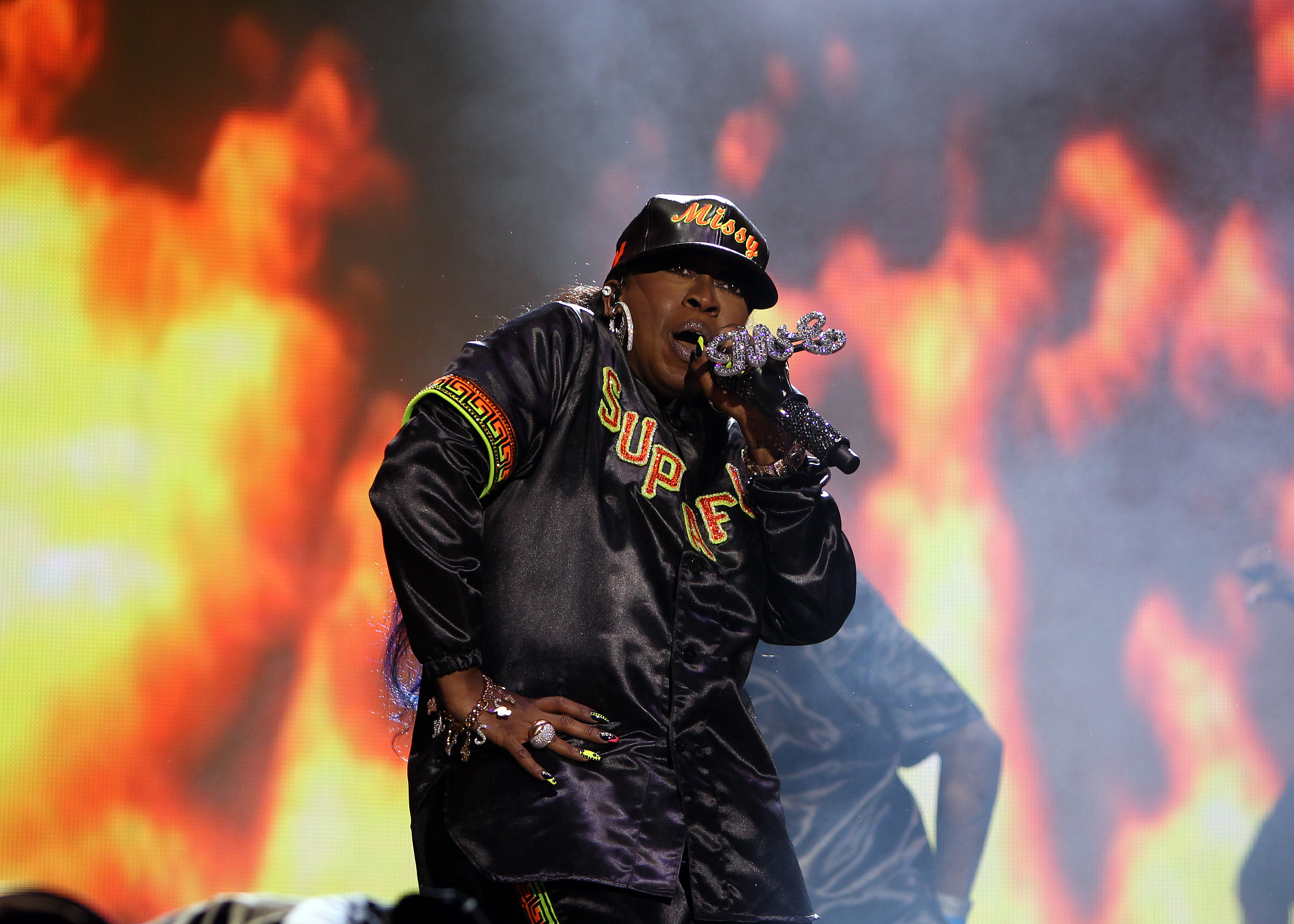 Bestival 2015 - Day 4 - Performances and Atmosphere  Featuring: Missy Elliot Where: Isle Of Wight, United Kingdom When: 13 Sep 2015 Credit: WENN.com
