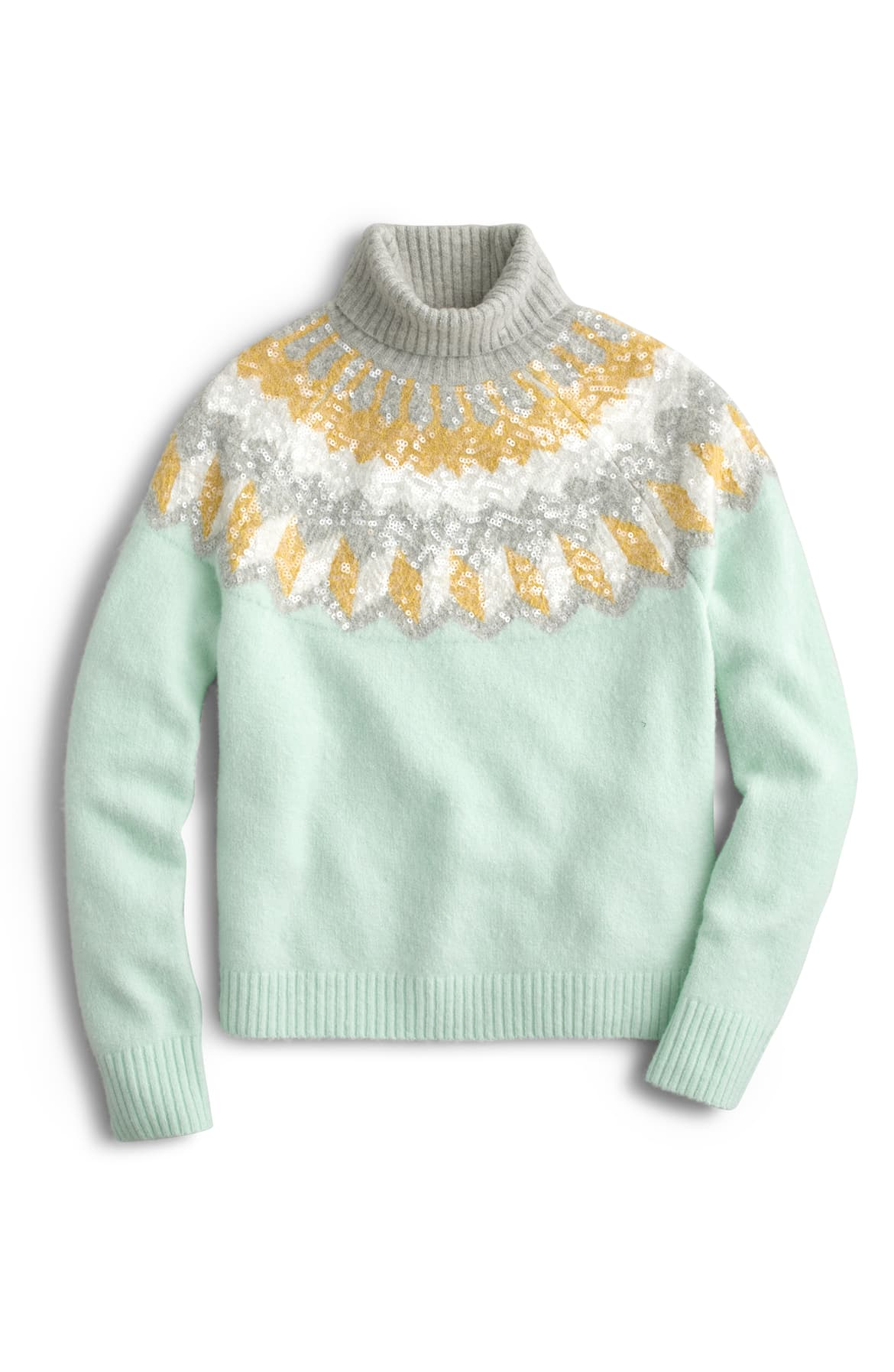 "<a  href=""https://shop.nordstrom.com/s/j-crew-fair-isle-rollneck-sweater-regular-plus-size/5445887/full?origin=keywordsearch-personalizedsort&breadcrumb=Home%2FAll%20Results&fashioncolor=Blue&color=adobe%20multi"" target=""_blank"" title=""https://shop.nordstrom.com/s/j-crew-fair-isle-rollneck-sweater-regular-plus-size/5445887/full?origin=keywordsearch-personalizedsort&breadcrumb=Home%2FAll%20Results&fashioncolor=Blue&color=adobe%20multi"">J. Crew Supersoft Sequin Fair Isle Turtleneck - $178.</a>{&nbsp;}From cozy to gold hued to tailored, Nordstrom has the hottest trends for getting glam this holiday season! (Credit: Nordstrom)"