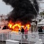 Woman recalls boat fire: 'worst 90 seconds of my life'