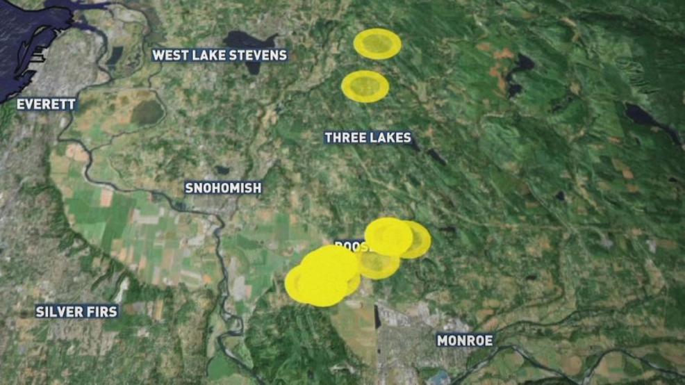 Resultado de imagen para 4.6 quake rattles Puget Sound; 3.5 aftershock minutes later