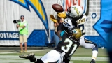 Rivers throws 4 TD pass as Chargers rout Jaguars 38-14
