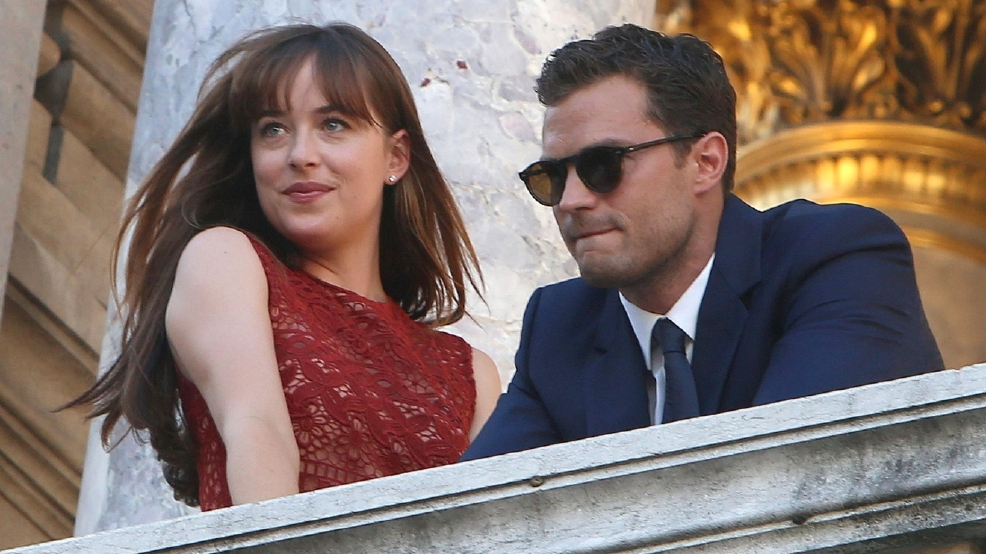PHOTOS | Filming 'Fifty Shades Darker' in Paris