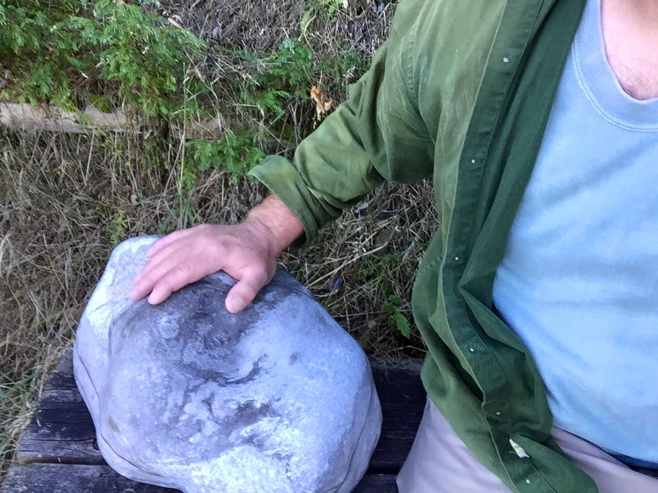 The Department of Natural Resources has made the decision of where to display a 92-pound Petoskey stone found in Leelanau County two years ago. According to State Parks Chief Ron Olson, the fossil will be placed in downtown Detroit.Courtesy: Tim O'Brien