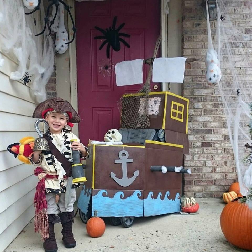 Pirate. Submitted by Lilly Samson
