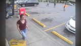 Girl pushed to ground outside store