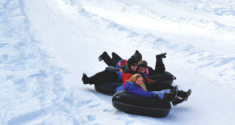 Suncadia offers mountains of winter adventure from tubing to cross country skiing, ice skating and more! (image: Suncadia){&amp;nbsp;}<p></p>