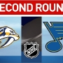 Predators beat Blues 4-3 in Game 1 of second-round series