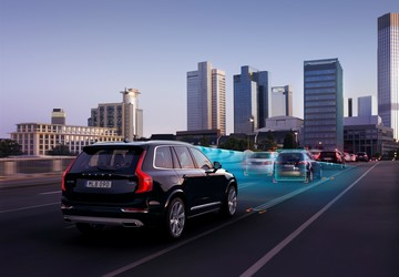 Volvo study shows self-driving features will make cars more efficient