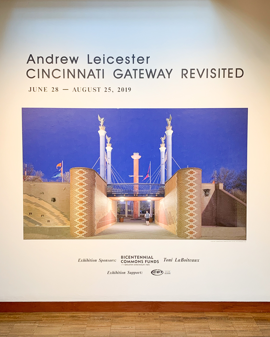 Cincinnati Gateway Revisited is free to view at the Westin Art Gallery inside the Aronoff Center for the Arts until August 25. / Image: Phil Armstrong // Published: 8.13.19