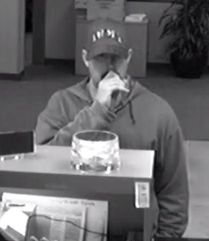 The FBI says the man walked into the MidFirst Bank in Warr Acres and demanded money.
