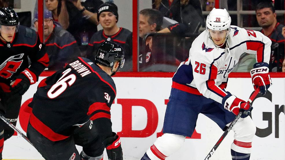 Caps and Hurricanes tied 2-2 heading into game 5 in D.C.