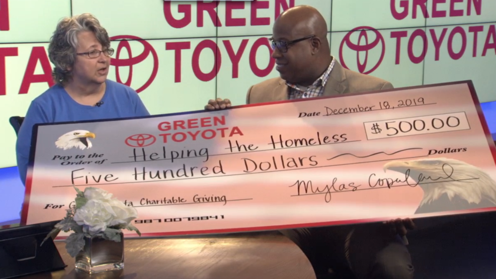 Green Toyota Springfield Il >> Green Toyota Gives Back To Help Families In Need During The