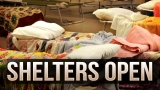 Shelter set up for Albany storm victims