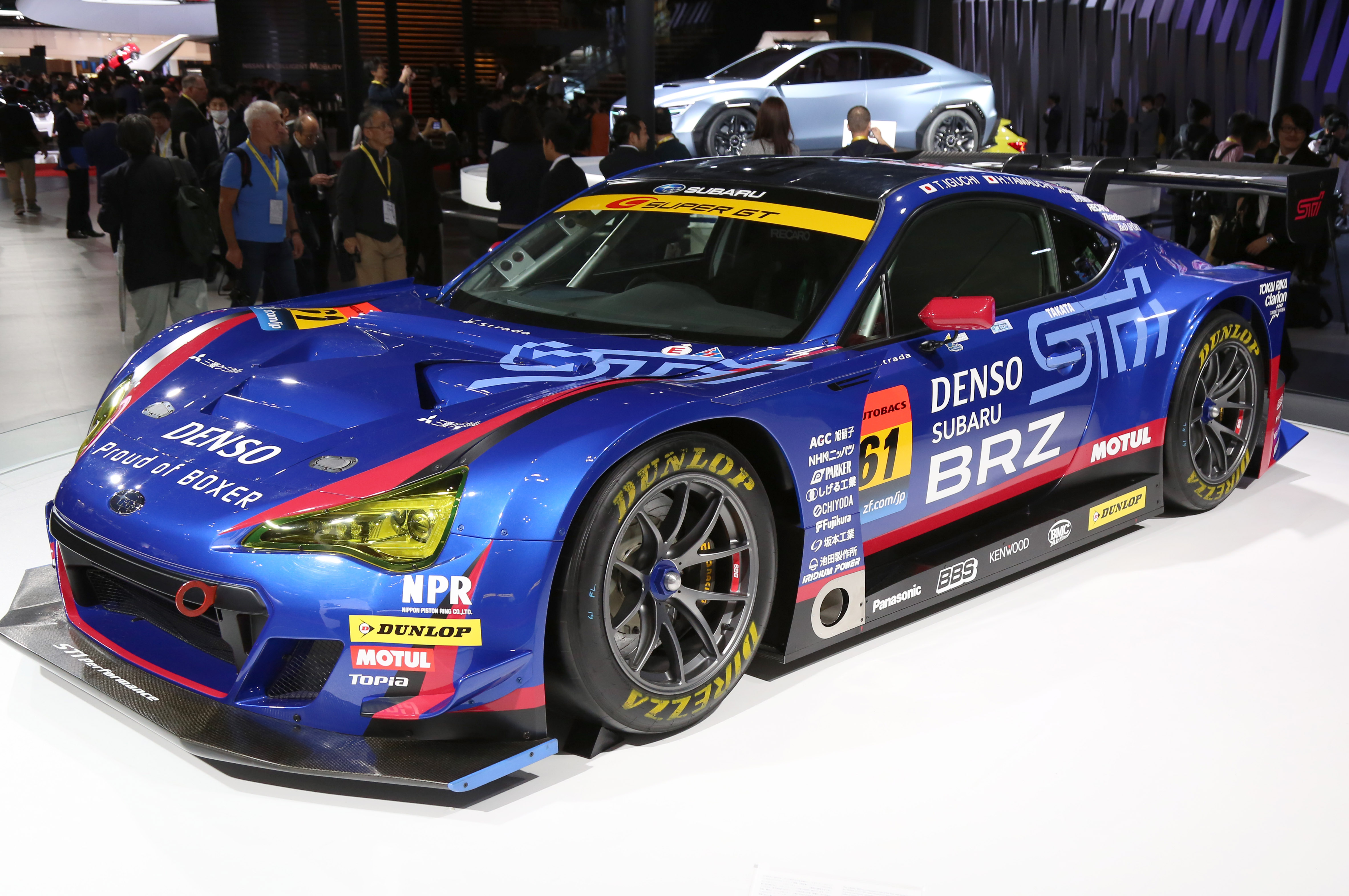 Tokyo Motor Show 2017  Featuring: Subaru BRZ GT300 Where: Tokyo, Japan When: 25 Oct 2017 Credit: Yukio Tomita/Future Image/WENN.com  **Not available for publication in Germany**